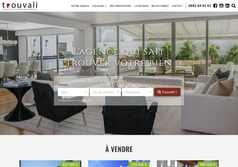 Trouvali Immobilier